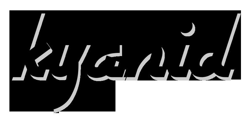 Kyanid logo černé